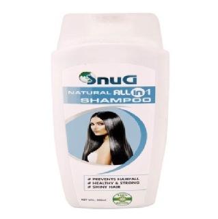 SnuG Natural All In 1 Shampoo,  200 Ml  All Hair Type
