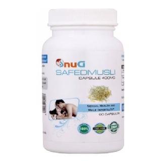 SnuG Safed Musli 400MG,  60 capsules