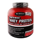 Big Muscle 100% Nitric Whey Protein,  5 Lb  Chocolate