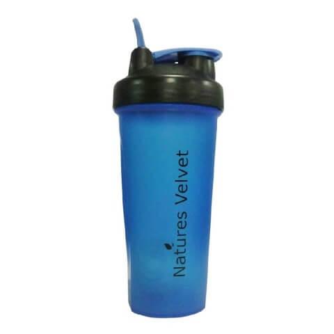 Natures Velvet Ball Shaker,  Black & Blue  600 ml
