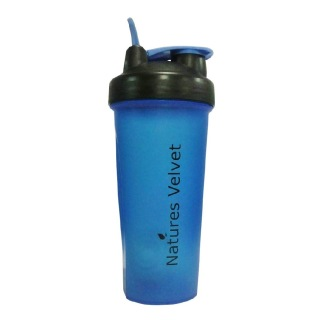 Natures Velvet Ball Shaker,  Black & Blue  600 Ml