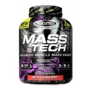 MuscleTech Mass Tech Performance Series,  7 lb  Strawberry