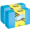 Technix Yoga Block - Pack of 2, Blue 23.5x15x7.5 cm