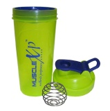 MuscleXP Shaker Bottle,  Neon Green  700 Ml