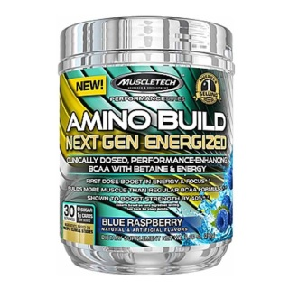 MuscleTech Amino Build Next Gen Energized,  0.61 lb  Blue Raspberry