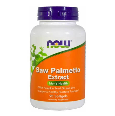 Now Saw Palmetto Extract,  90 softgels