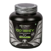 Six Pack Nutrition 100% Whey,  4.4 lb  Masala Milk