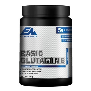 Extreme Muscle Basic Glutamine,  0.66 lb  Unflavoured