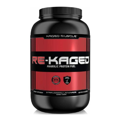 Kaged Muscle Re-Kaged,  2.07 lb  Strawberry Lemonade