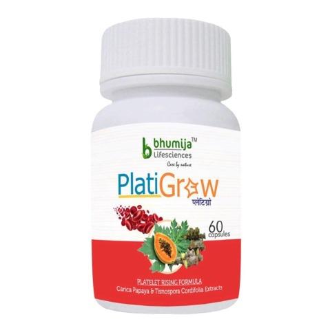 Bhumija PlatiGrow,  60 capsules