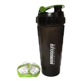 Big Muscle Shaker,  Green & Black  600 Ml