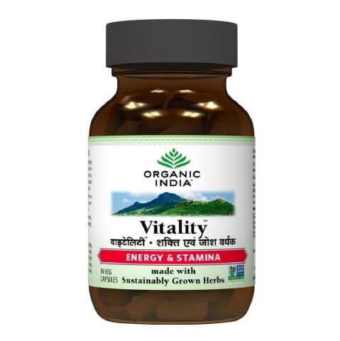 Organic India Vitality,  60 capsules