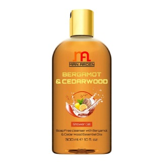 Man Arden Shower Gel,  300 ml  Bergamot & Cedarwood