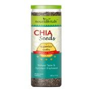 NourishVitals Roasted Chia Seeds,  0.2 kg  Natural