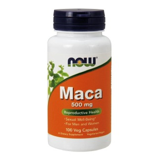 Now Maca (500 mg),  100 capsules