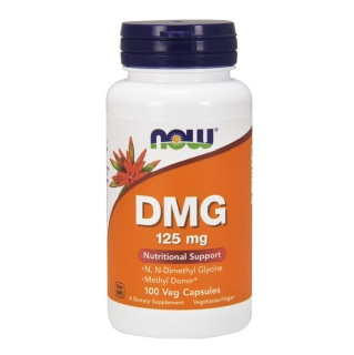 Now DMG (125 mg),  100 capsules