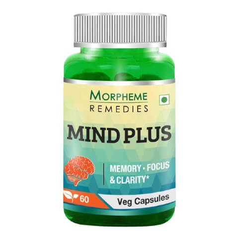Morpheme Remedies Mind Plus (500 mg),  60 veggie capsule(s)