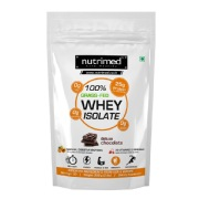 Nutrimed 100% Grass-Fed Whey Isolate,  2 lb  Deluxe Chocolate