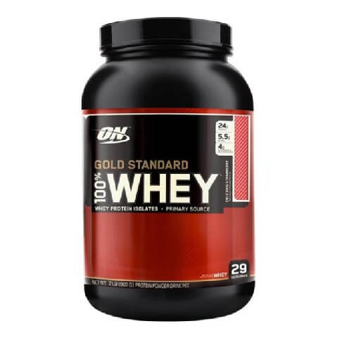 ON (Optimum Nutrition) Gold Standard 100% Whey Protein,  2 lb  Delicious Strawberry
