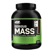 ON (Optimum Nutrition) Serious Mass,  6 lb  Chocolate