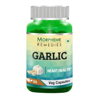 Morpheme Remedies Garlic (500 mg),  60 veggie capsule(s)
