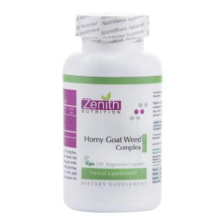 Zenith Nutrition Horny Goat Weed Complex,  120 capsules