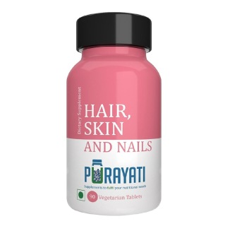 Purayati Hair Skin and Nails,  Unflavoured  90 tablet(s)
