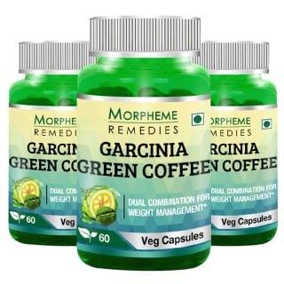 Morpheme Remedies Garcinia Green Coffee (500mg),  3 Piece(s)/Pack