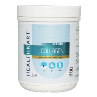 HealthKart Collagen with Glucosamine & Vitamin C,  0.2 kg  Unflavoured