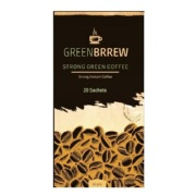 GreenBrrew Strong Green Coffee,  20 sachets/pack