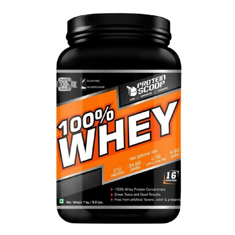 Protein Scoop 100% Whey,  2.2 lb  Chocolate