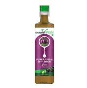 NourishVitals Pure Karela with Jamun Juice,  Natural  0.500 L