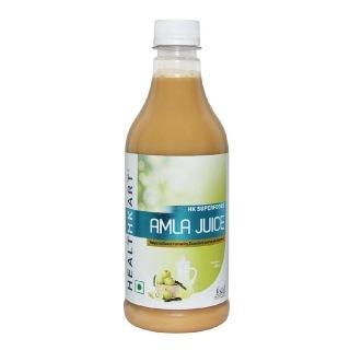 HealthKart Amla Juice,  Unflavoured  0.5 L