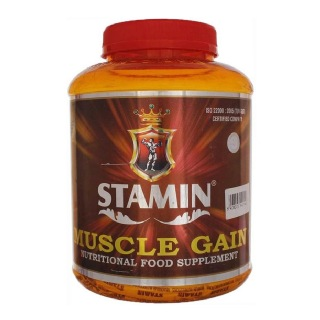 Stamin Nutrition Muscle Gain,  4.4 lb  Strawberry