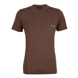 Rocclo T Shirt-5095,  Chocolate Brown  Medium