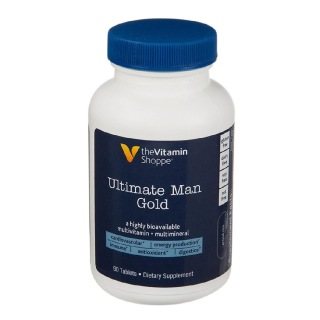 The Vitamin Shoppe Ultimate Man Gold Multivitamins,  90 tablet(s)  Unflavoured