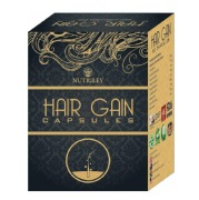Nutriley Hair Gain,  60 capsules  Unflavoured