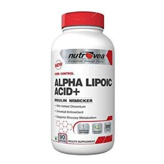 Nutrovea Alpha Lipoic Acid+ 300 mg,  90 capsules