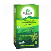 Organic India Tulsi Green Tea,  25 Piece(s)/Pack  Tulsi