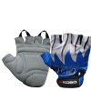 KOBO Weight Lifting Gloves (CG-01),  Blue & White  XL