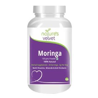 Natures Velvet Moringa Powder,  0.100 kg