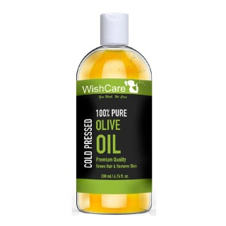 Wishcare Cold Pressed Olive Oil,  200 ml  Hair & Skin