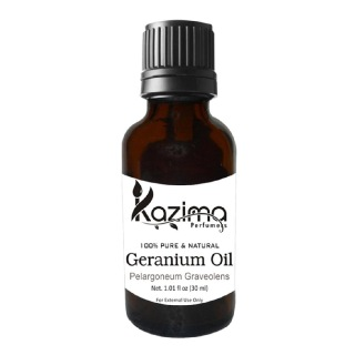 Kazima Geranium Oil,  30 ml  100% Pure & Natural