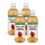 Green Elements Apple Cider Vinegar,  0.5 L  Natural (Pack of 4)