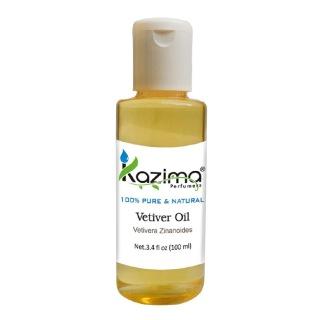 Kazima Vetiver Oil,  100 ml  100% Pure & Natural