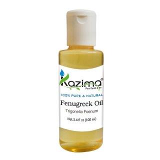 Kazima Fenugreek Oil,  100 ml  100% Pure & Natural
