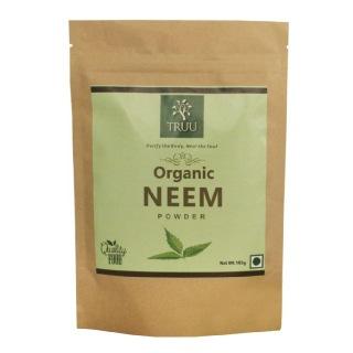 Truu Organic Neem Powder,  0.100 kg