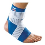 LP Support Ankle Support With Strap (728),  Blue  Large