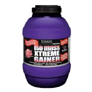 Ultimate Nutrition Iso Mass Xtreme Gainer,  Strawberry Milkshake  10.11 Lb