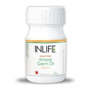 INLIFE Wheat Germ Oil (Buy 1 Get 1 Free),  60 Capsules